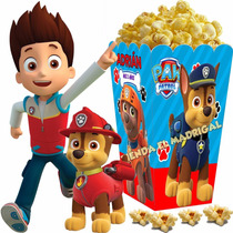 Kit Imprimible Patrulla D Cachorros Paw Patrol Candy Bar