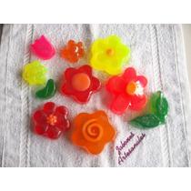 Jabones Artesanales De Glicerina ( Flores )