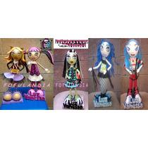 Centros De Mesa,fofuchas,cumpleaños,princesas, Monster High.
