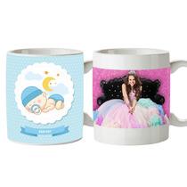 Taza Personalizada 15 Años Boda Baby Shower Bautizo Eventos