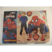 Globo Metalico Fiestas De Spider-man