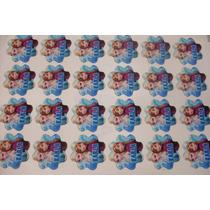50 Círculos Comestibles Cupcake Corte Contorno Personalizado