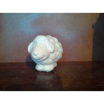 Alcancias De Borrego En Yeso Ceramico Blanco Para Pintar