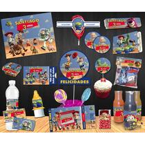 Kit Imprimible Toy Story Fiestas Infantiles, Dulceros