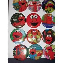 Elmo Botones Para Fiesta Arma Tu Paquete