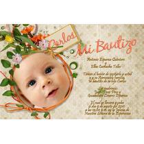 Invitaciones Para Bautizo -monísimas!---imprimelas Tu---