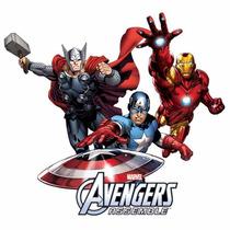 Mantel Servilletas Dulcero Todo Fiesta Avengers