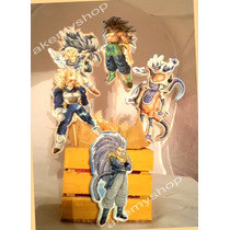 Dragon Ball Z Centro De Mesa Personajes Para Fiesta
