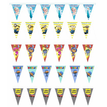 10 Metros De Banderines Personalizados Adornos Para Fiestas