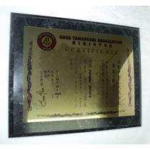 Placas A Color Urgentes. Reconocimiento, Premiación, Diploma