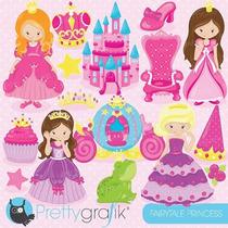 Kit Imprimible Princesas Imagenes Clipart