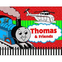 Invitaciones Thomas El Tren Mouse Diseñá Tarjetas, Cumples