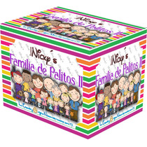 Kit De Mas De 5000 Imagenes Familia De Palitos 2 Recuerdos