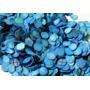 Confeti Papel Redondo Azul Piñata Bazuca Posada Batucada Fie
