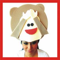 Sombreros Espuma Boda Fiesta Xv Dj Lentes Peluca Gorro
