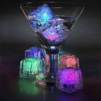 Cubo De Hielo Led Sumergible Luminoso Rgb
