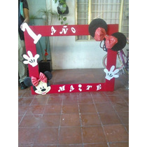 Marco Gigante Para Fiesta Mimi Y Mickey Mouse Cuadro Decorat