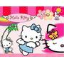 Kit Imprimible Hello Kitty, Invitaciones Y Cajitas