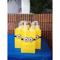 Bolsas Para Fiestas Infantiles De Minion
