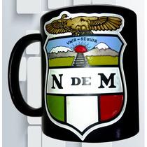 Taza Grabada Ferrocarriles Nacionales De Mexico