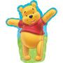 Globo Winnie Pooh Paq 6 Pzas Medida 22 Pulgadas Para Helio