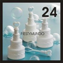 24 Burbujeros Para Boda Pastel Fiestas Eventos Burbujas Gel
