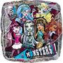 Globo Monster High Paq 6 Pzas Medida 18 Pulgadas Para Helio