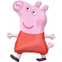 Globo Metálico Peppa Pig Para Tu Fiesta. Para Helio O Aire.