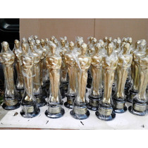 Estatuilla Premio Oscar 25 Cm Para Fiestas Premios Etc.