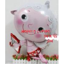 Globo Metálico En Forma De Cupido 14 De Febrero