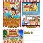 Invitaciones Cumpleaños Jake Y Los Piratas De Nunca Jamás