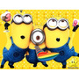 Kit Imprimible Mi Villano Favorito Minions, Invitaciones