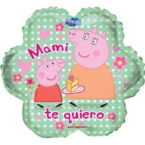 Peppa Pig Globos Metálicos Día De Las Madres. Fiesta.