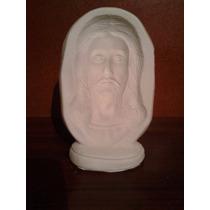 Recuerdos Rostro Jesus Yeso Cerámico Blanco Para Pintar