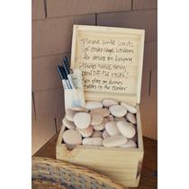 En Lugar De Libro De Firmas Kit - Playa Deseos Ideal En Boda
