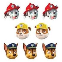 Fiesta Patrulla De Cachorros, Paw Patrol Mascaras Carton