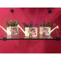 Macetas En Lamina ,floreros,decoración,jardín,centro De Mesa
