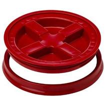 Gamma Sello Tapa - Rojo - Para 3,5-7 Cubos Galón O Baldes Ga