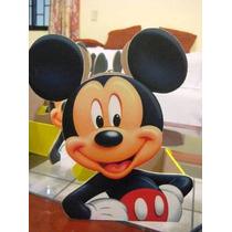 Centros De Mesa De Mickey Mouse Cajitas De Madera Infantiles