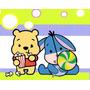 Kit Imprimible Winnie Pooh Bebe, Invitaciones Y Cajitas