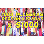 1000 Pulseras Personalizadas Fiestas Bodas Bautizos Eventos