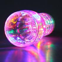 Vaso Luminoso Led Multicolor 320 Ml. 6 Leds Ruleta