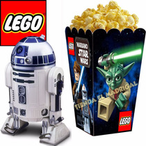 Kit Imprimible Lego Star Wars - Decoraciones Cajitas Fiesta