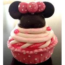 Cupcake Alhajero Minnie Mickey Mouse Pasta Francesa Bebe