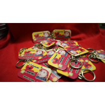 50 Llaveros Personalizados Plásticos Invitaciones Infantiles