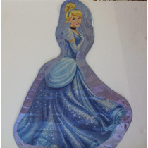 Princesas Cenicienta 10 Globos Metalicos Fiestas Decoracion