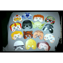 Paquete 30 Antifaces Star Wars De Regalo 3 Piezas