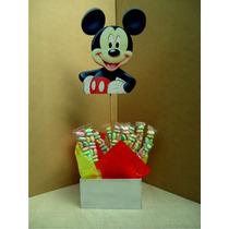 Centro De Mesa Dulcero Caja Mikey Mouse