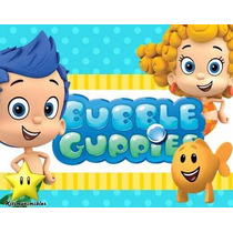 Kit Imprimible Bubble Guppies, Invitaciones Y Cajitas