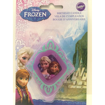 Vela Frozen Para Pastel 8cm Marca Wilton